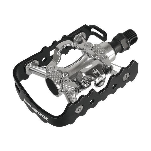 Exustar SPD Type Bike ClipLess One Side Platform Pedals EPM831